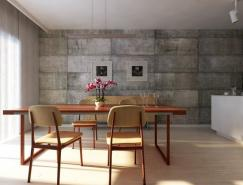 RafaelReis极简风格室内设计效