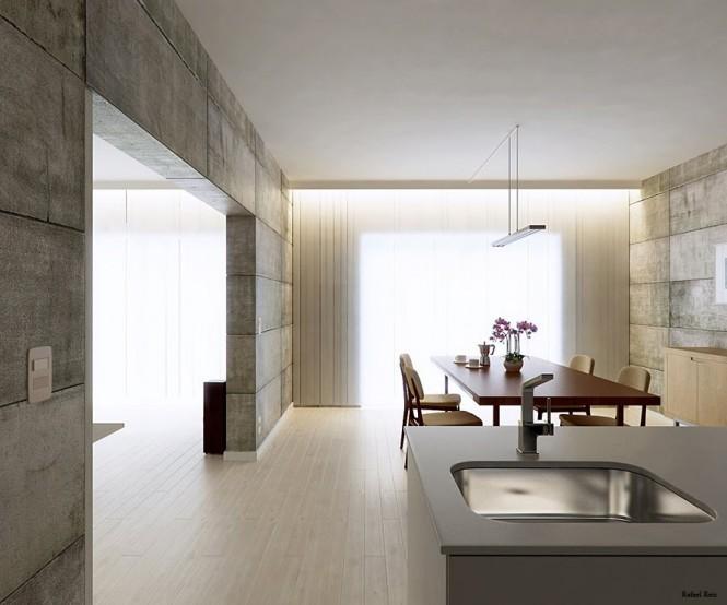 RafaelReis极简风格室内设计效果图北京麦格建筑设计天宝图片