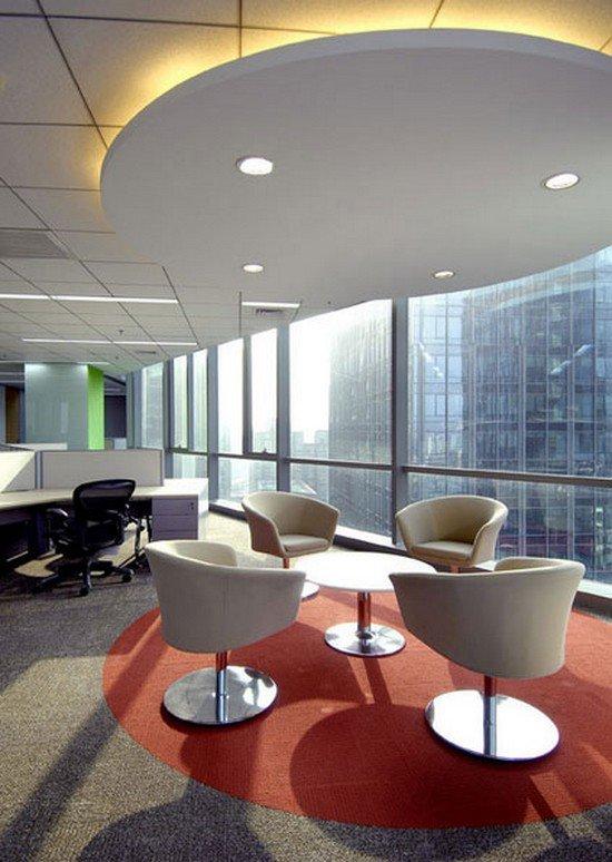 舒适漂亮的办公室设计欣赏