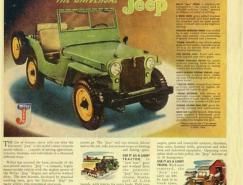 经典的老式汽车广告欣赏