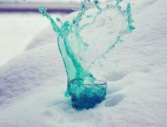 摄影欣赏:美丽的水花飞溅