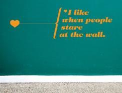 20款创新墙贴欣赏