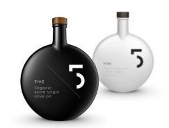 不同寻常的Five橄榄油包装设计