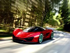 法拉利世界设计大赛第二名:SamirSadikhov的Xezri超跑概念车