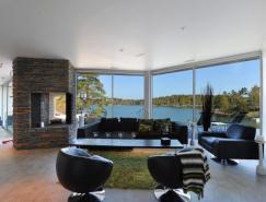 斯德哥尔摩群岛现代风格别墅设计