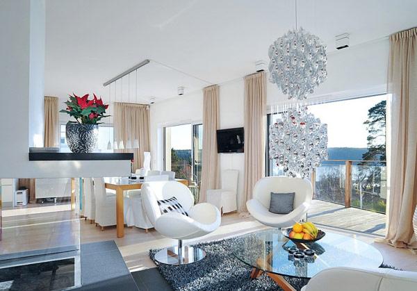 北欧风格现代别墅设计