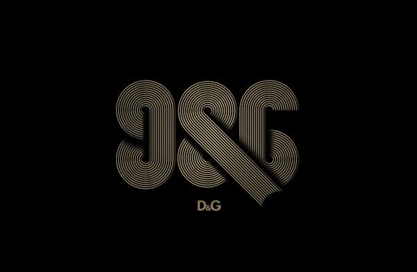 DvideMosconi:D&G创意标志设计