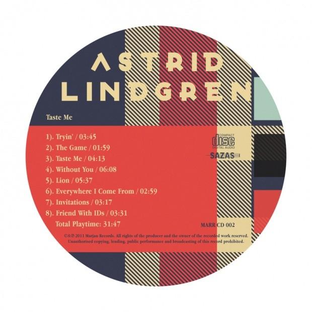 AstridLingrenCD包装设计