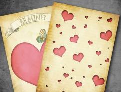40張甜蜜的情人節卡片設計