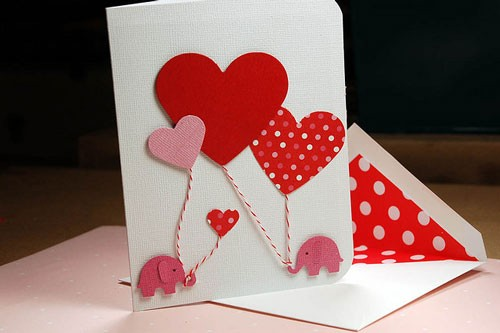 40张甜蜜的情人节卡片设计