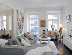 98平米瑞典舒適的公寓設計