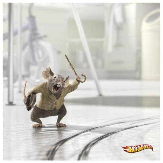 平面广告欣赏之可爱的动物 - 设计之家