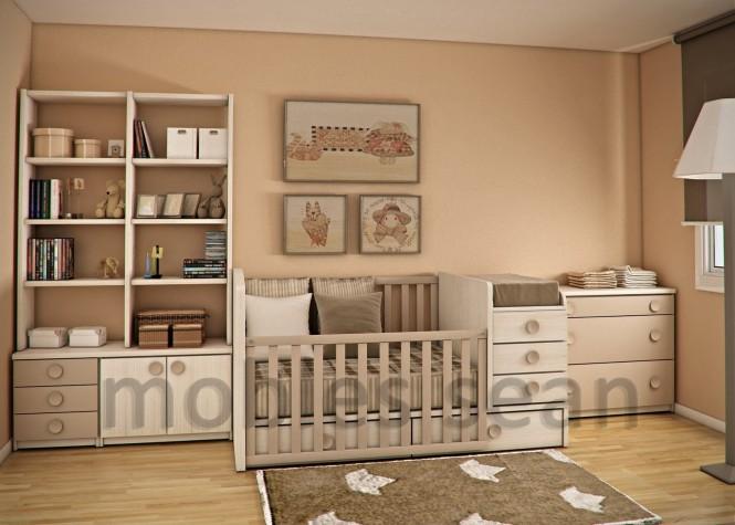 巧妙節省空間的兒童房設計(2)