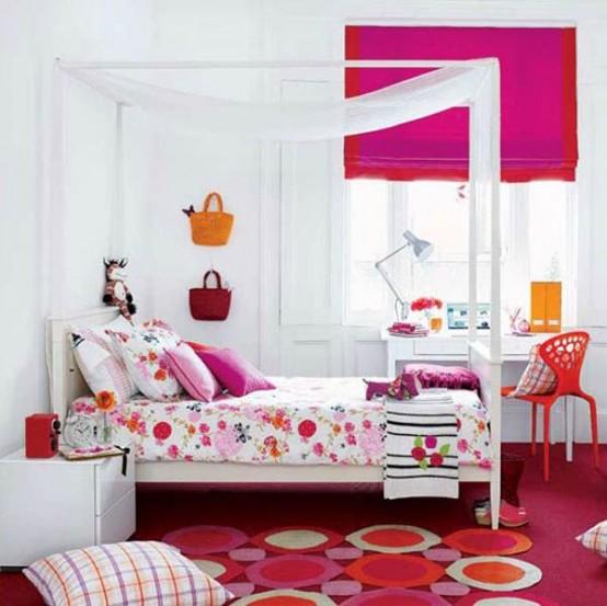 33个漂亮的女孩房间装修设计