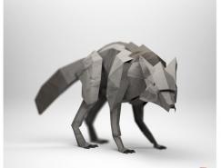 JeremyKool的3D纸艺术