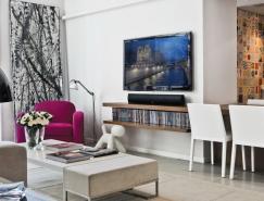 巴西通风明亮的现代公寓设计