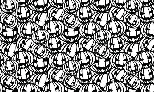 40款黑白底纹图案素材(2)