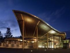建筑欣赏:加拿大VanDusen植物园游客中心