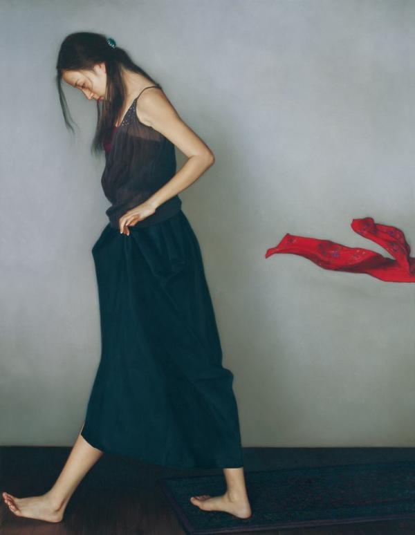 李贵君,1964年生,北京人,画家。中央美术学院附中任教。师从于靳尚谊、杨飞云,是第三代古典绘画的代表人物。他不仅在技法上与老师们不相上下,而且在对于当代的表达上,有了更新更现代的表达方式。被评论界誉为新古典绘画的代表。