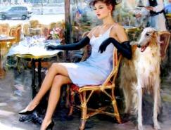 KonstantinRazumov油画作品欣赏