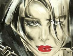 NadyGepp肖像油画欣赏