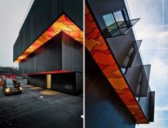 建筑与街头艺术结合:卢森堡多层住宅