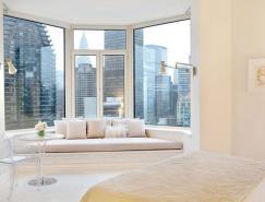 优雅而简约的顶层公寓设计