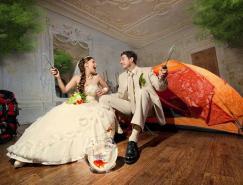 30張國外創意婚紗攝影