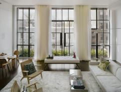 纽约第七大街复式公寓设计