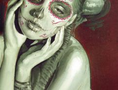 JorgeMonreal肖像绘画作品