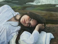 YigalOzeri超写实人物绘画作品