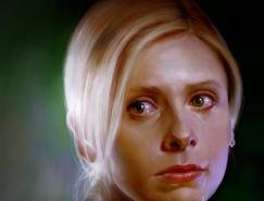 Blakravell肖像画作品