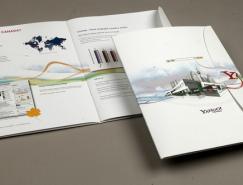國外漂亮的企業宣傳畫冊設計