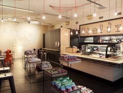 品牌设计欣赏:AschanDeli餐厅