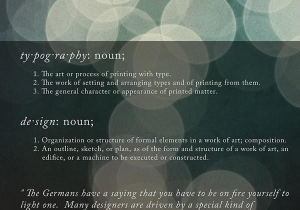 国外创意文字排版设计图片