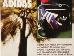 Adidas三叶草经典广告设计