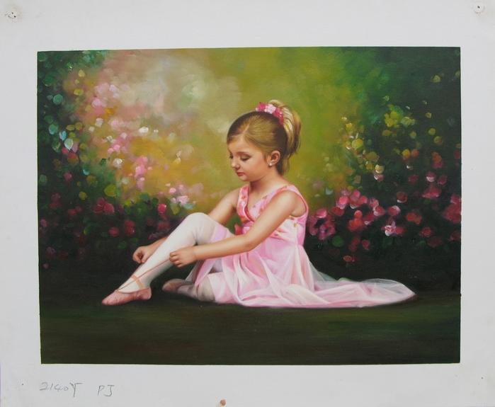 30个漂亮的油画佳作欣赏