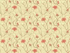 50款花朵底纹图案素材