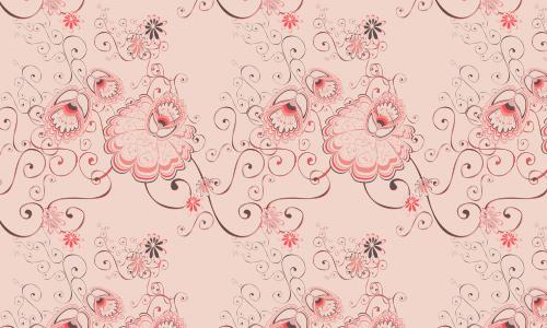 28款漂亮的花纹底纹素材(3)