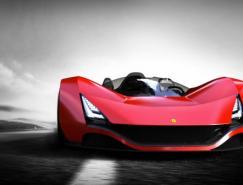 法拉利Aliante概念跑車