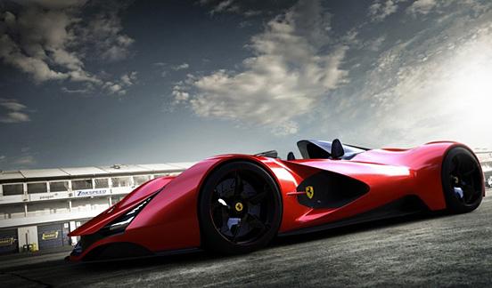 法拉利Aliante概念跑车