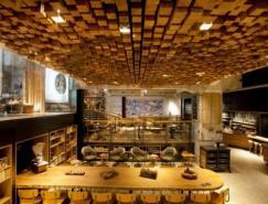 阿姆斯特丹的星巴克概念店铺设计