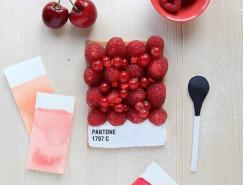 emiliedegriottes:pantone食物色彩卡