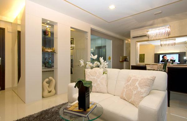 新加坡现代风格公寓装修设计