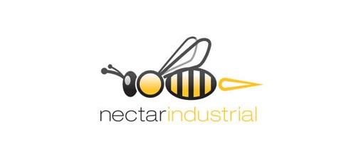 标志设计元素运用实例:蜜蜂(3)