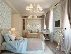 传统风格的圣彼得堡公寓设计