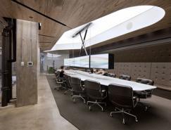 木制材料的运用:办公室设计欣赏