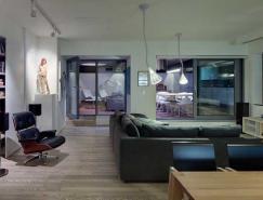 斯洛伐克一套现代Loft阁楼设计