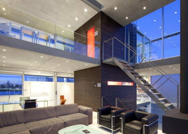 Rieteiland河岸住宅设计