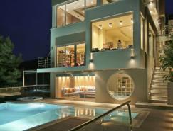 雅典现代豪华别墅设计